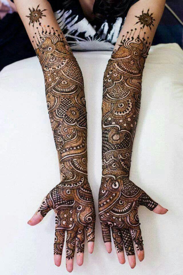 Best Bridal Mehndi Designs For Full Hands Mehndi Images,Japanese Style Japanese Cherry Blossom Tattoo Designs