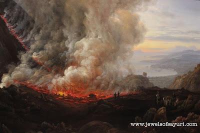 christan dahl eruptioin of mt.vesuvius