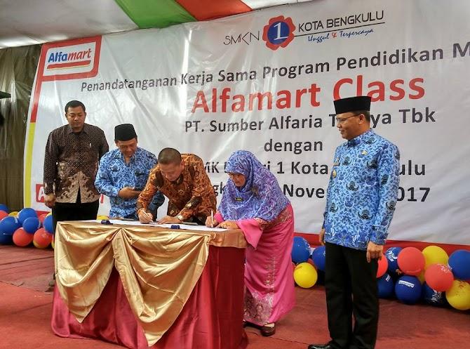 Alfamart Class Hadir di Bengkulu Untuk Mendukung Dunia Pendidikan