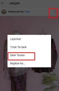 Cara Copy /Salin Hashtag di Instagram Tanpa Aplikasi