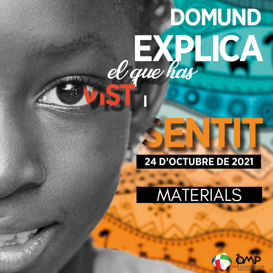 Materials Domund21 en català