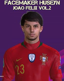 PES 2017 Faces João Félix by Huseyn