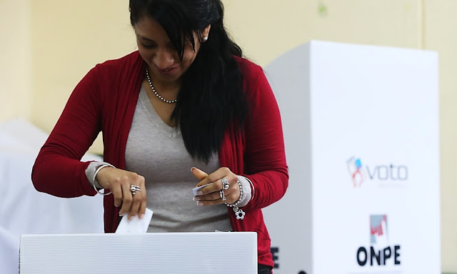 Peruanos no sabe por quién votar en elecciones de 2020