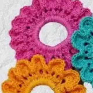 Ligas para Cabello a Crochet