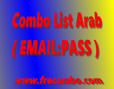110K Arab Combo List ( EMAIL:PASS )