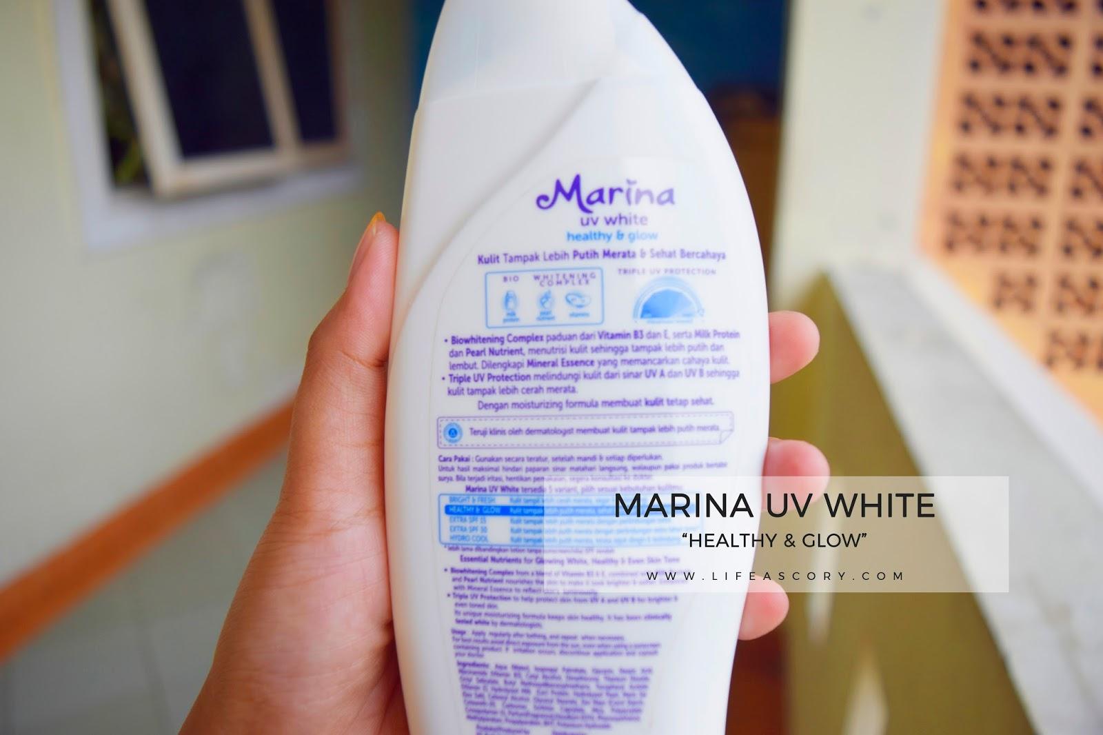 Tampil Percaya Diri Bersama Marina UV White Healthy & Glow