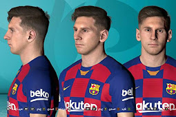 Lionel Messi New Face For - PES 2017