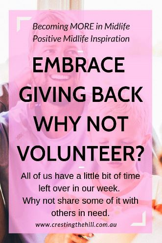 All of us have a little bit of time left over in our week. We can spend it on ourselves, or we can share some of it with others in need. #volunteering