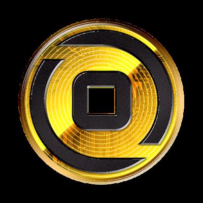 暗号通貨ビットゼニー新ロゴデザインのフリー素材(金貨ver)