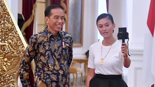 Berbincang dengan Jokowi, Agnes Merasa Seperti Berbicara Dengan Bapaknya