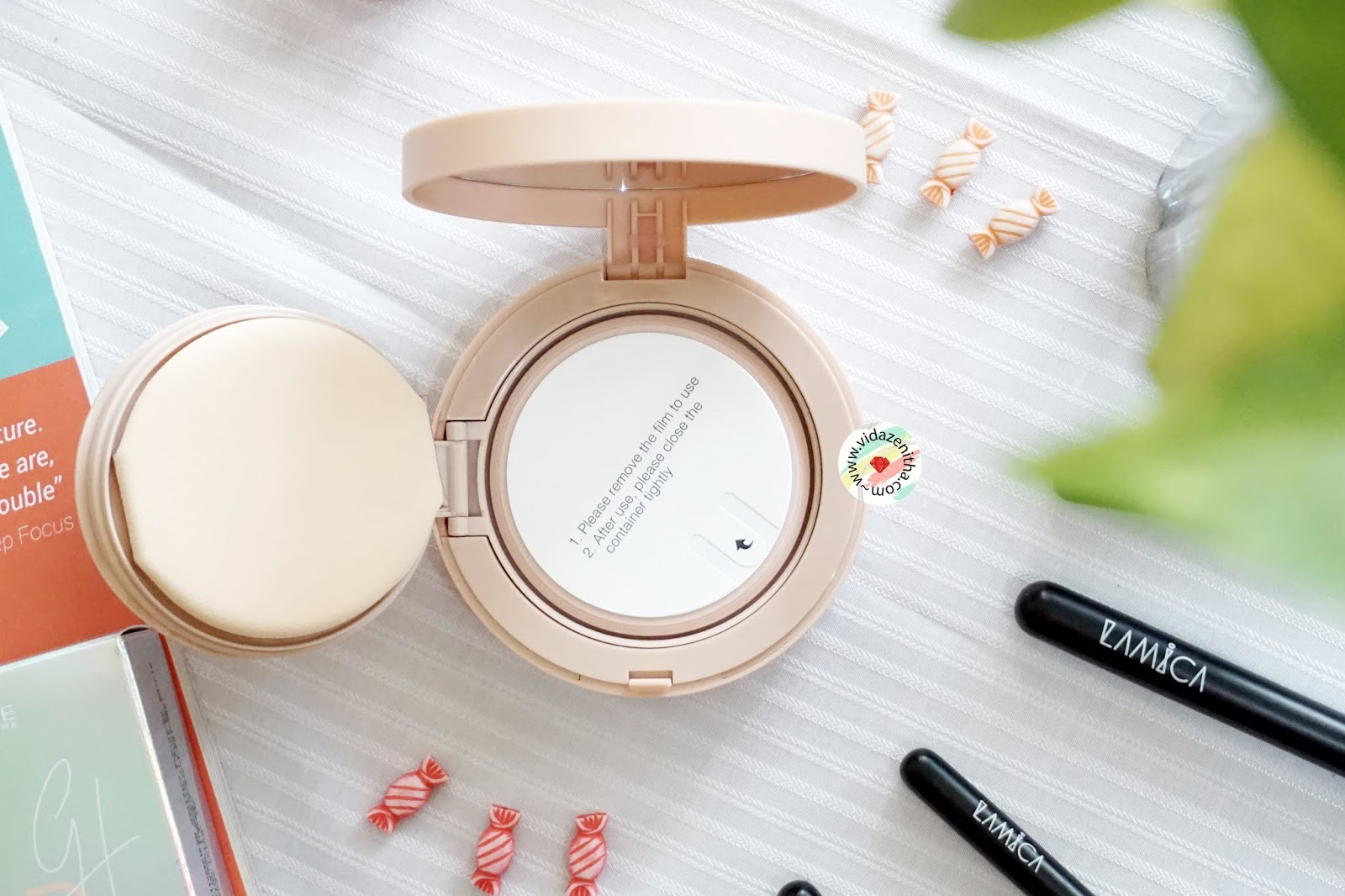 Review Maybelline X Gigi Hadid BB Cushion #Natural || vidazenitha.com