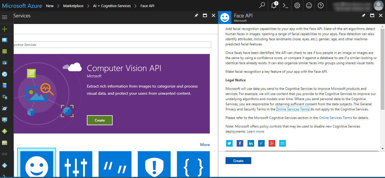 What is Azure Cognitive Service? Tutorial with Face API example