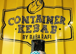 HotBurger ala Container Kebab Cafe by Baba Rafi