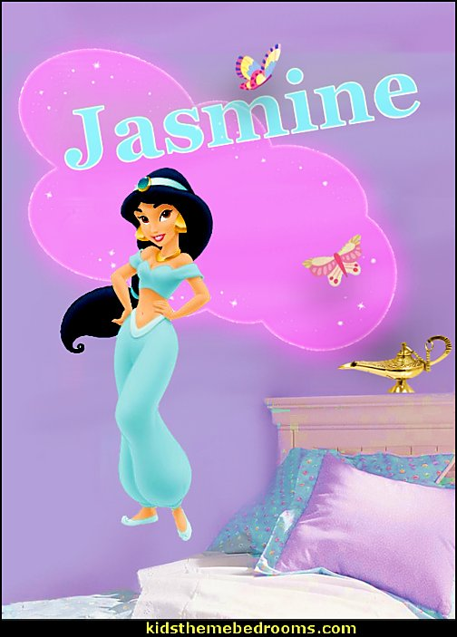 Disney Princess - Jasmine   I Dream of Jeannie theme bedrooms - Moroccan style decorating - Jeannie bedroom harem style - Arabian Nights theme bedrooms - bed canopy - Moroccan stencils - I dream of Jeannie bottle - satin bedding - throw pillows - Moroccan furniture - Aladdin bedroom ideas - Arabian princess costume -  Harem Costumes
