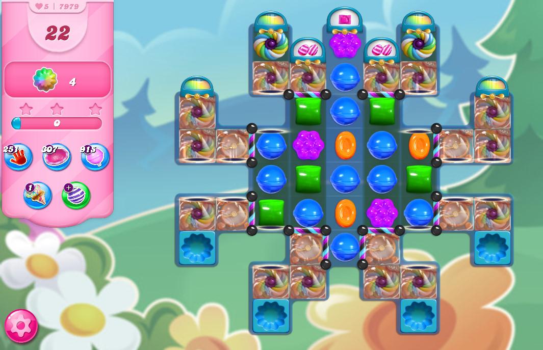 Candy Crush Saga level 7979