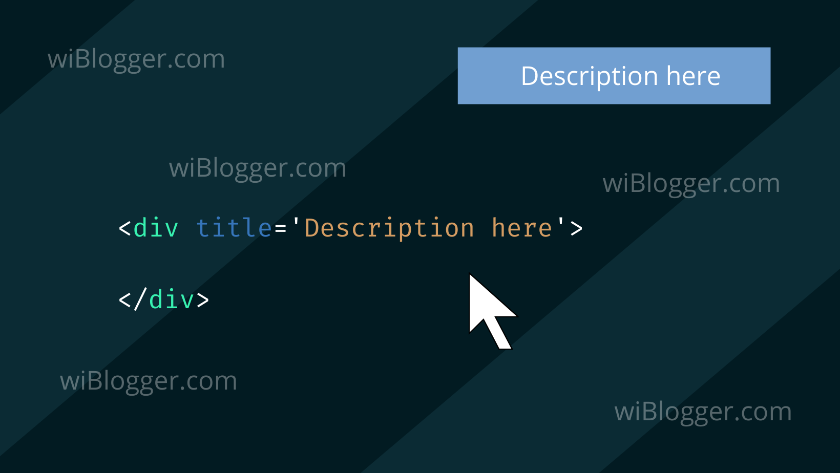 Kegunaan atribut title html