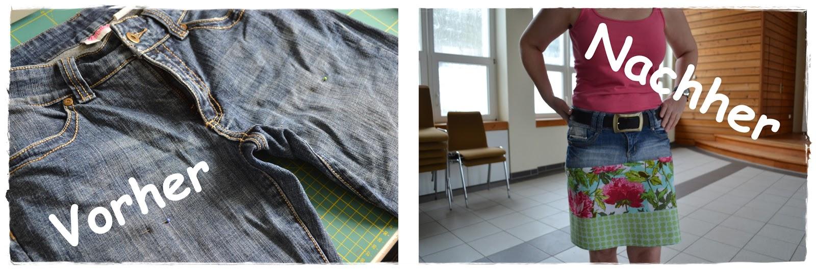 Die Kreativoase Jeans Zu Rock