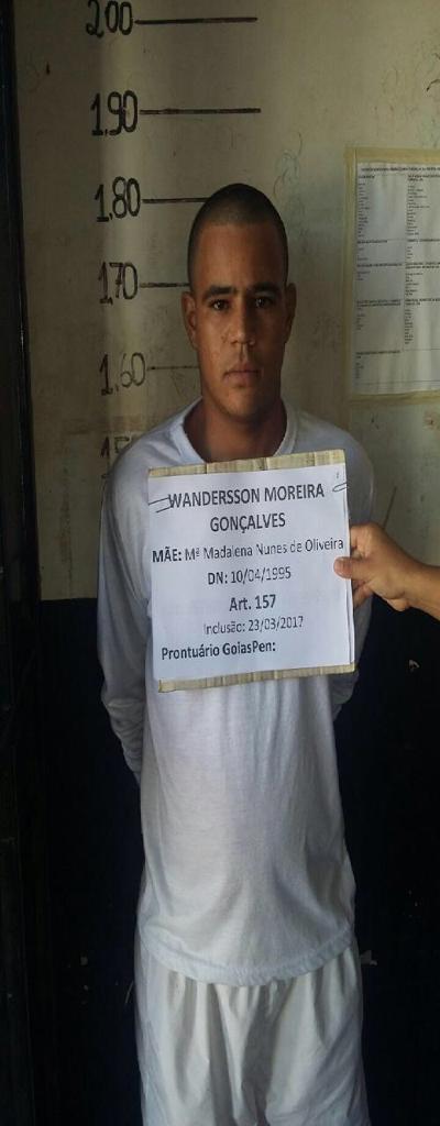 2 - Fuga em massa agora no Presídio de Cristalina. 19 presos. 61 9230-6834: LISTA DE FORAGIDOS