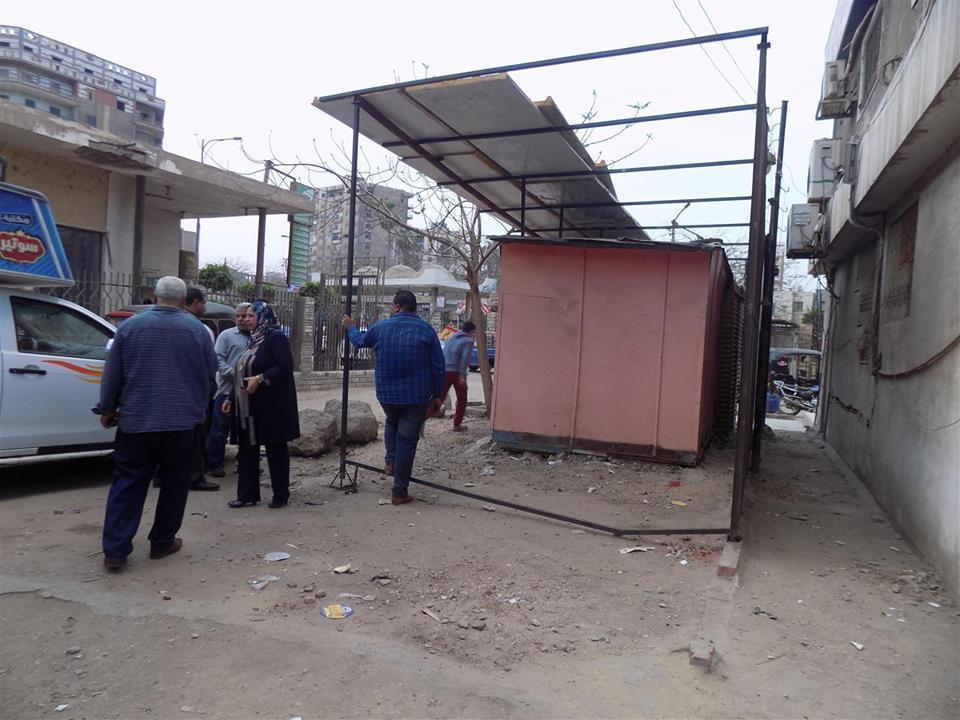 d05d3787ccf6d رفع اشغال طريق أمام مكتب بريد ميت غمر