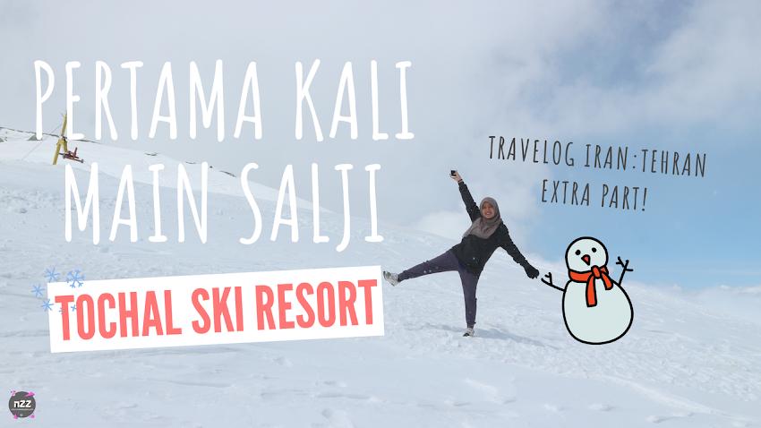 Travelog Iran: Main Salji di Tochal Ski Resort, Tehran