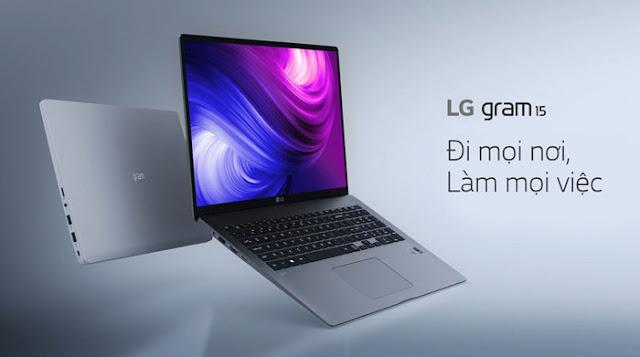 LG Gram 15 mỏng nhẹ