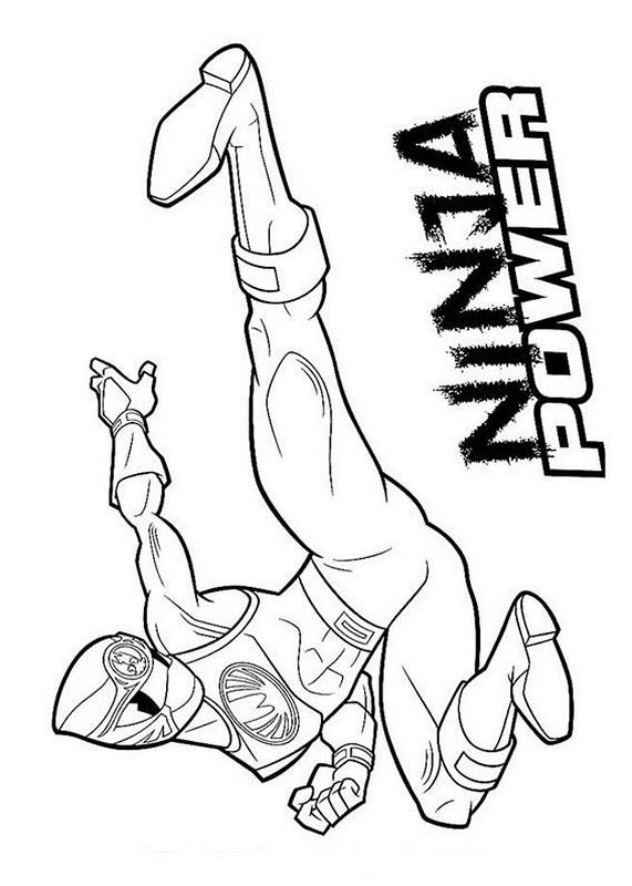Desenhos Dos Power Rangers Para Imprimir E Colorir O Mundo Das