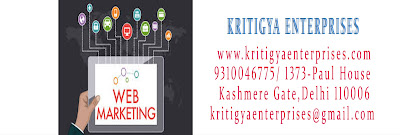 web marketing by Kritigya Enterprises