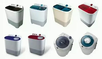 Daftar Harga Mesin Cuci Terbaru 2019