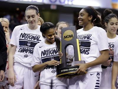 BALONCESTO - NCAA femenina 2016 Final Four (Indianapolis): Connecticut revalida su cuarto título consecutivo sin problemas