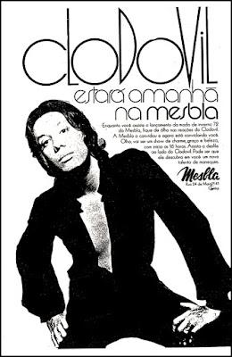 Clodovil Hernandez, Moda anos 70; propaganda anos 70; história da década de 70; reclames anos 70; brazil in the 70s; Oswaldo Hernandez