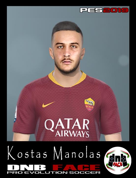PES 2017 Manolas face by DNB FACE