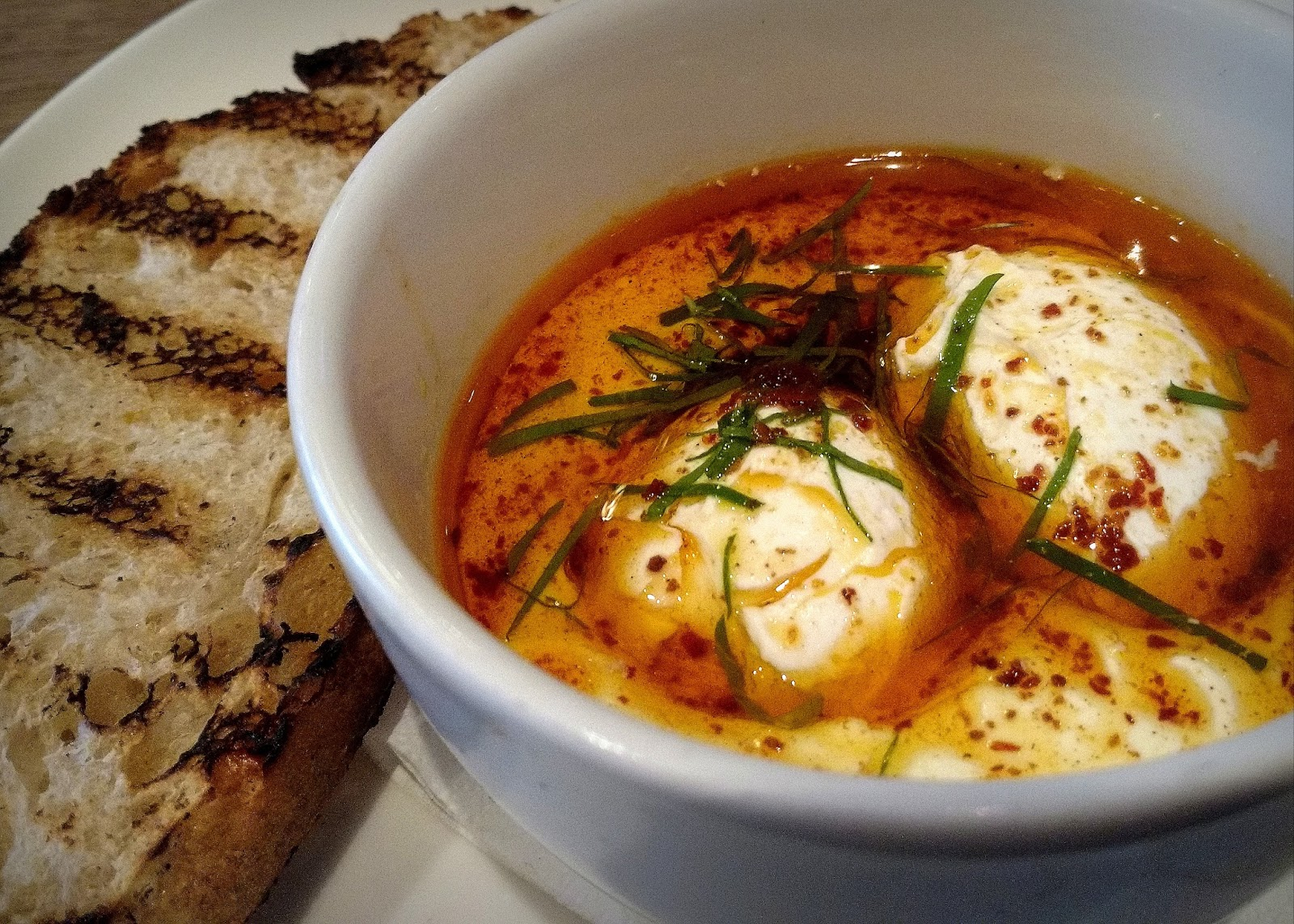 Providores and Tapa Room, where its Turkish Eggs are an iconic London dish.