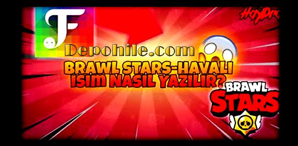 Brawl Stars Şekilli Havalı İsim Yapımı %100 Yöntem 2020