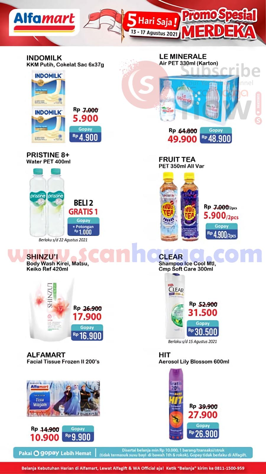 Katalog Promo JSM Alfamart Weekend 13 - 17 Agustus 2021 4