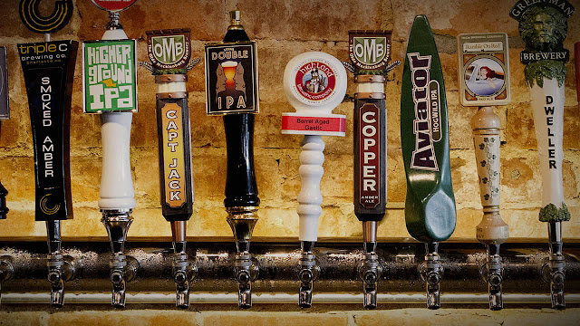 North Carolina Local Beer Taps