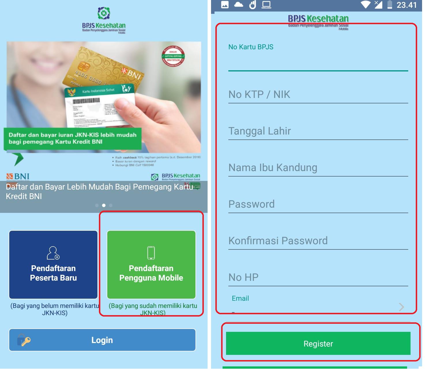 Cara Daftar Mobile Jkn Dan Mengetahui Nomer Kartu Bpjs Kesehatan Dari Virtual Account Bpjs