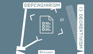 Hasan Askari: Deplagiarism atau Decreativism