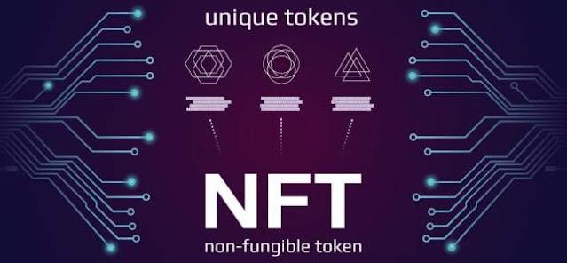 Ilustrasi Gambar NFT