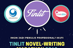 Lomba Menulis Novel Umum TinLit Writing Marathon 2018