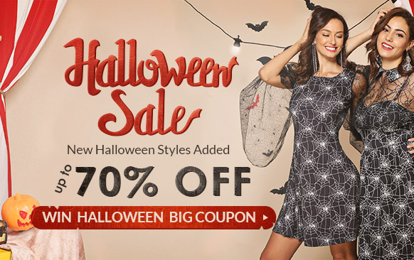 [ROSEGAL] Halloween Sale!