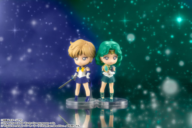 Figuarts Mini de Sailor Urano y Sailor Neptuno - Tamashii Nations