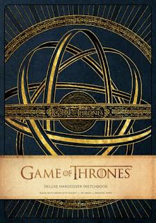 Cuaderno de Bocetos Game of Thrones