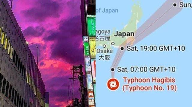 Jepang Hadapi Badai Hagibis, Ratusan Orang Disarankan Mengungsi