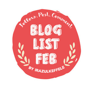 BLOGLIST FEBRUARI BY IRAZULKEFFELE