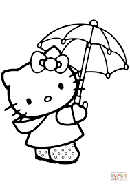 Umbrella Coloring Page 9