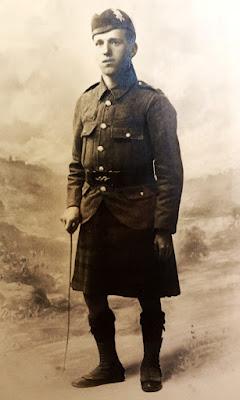 Alexander Forbes Hunter from Lochgelly died Battle of Arras 1917