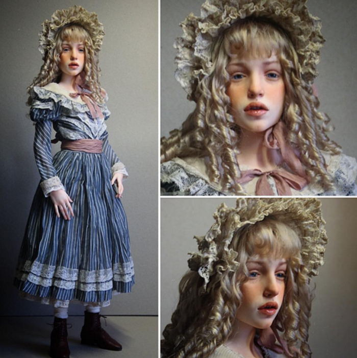 Russian Artist and Sculptor Mikhail Zaikov Realistic Doll