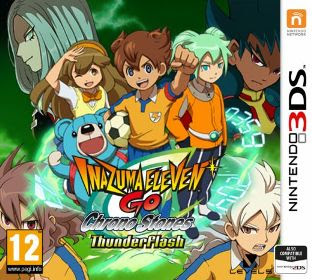 Inazuma Eleven GO: Chrono Stones: Thunderflash, 3DS, Español, Mega