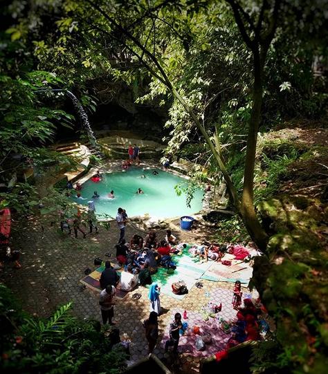 Mengekplor Pesona Goa Ergendang, Sibiru-Biru Deli Serdang