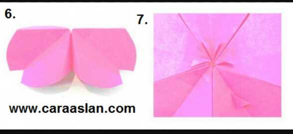 Cara Membuat Origami Bunga Sakura Dengan Mudah Beserta Gambarnya Dr Sampah
